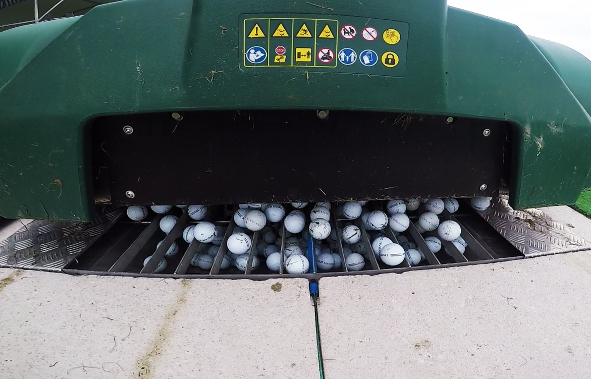 Robotic Range Ball Collection, Robotic Range Ball Collection