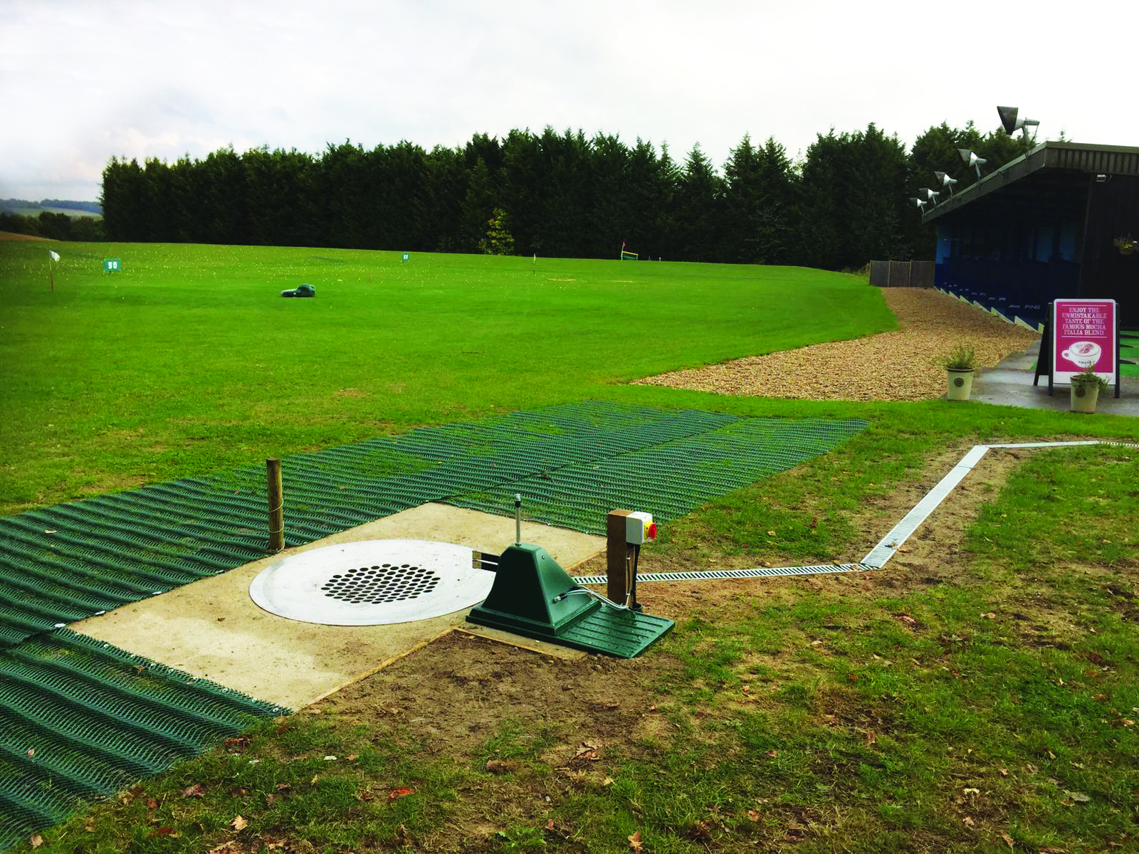 Slinfold Golf & Country Club Automated Outfield Maintenance