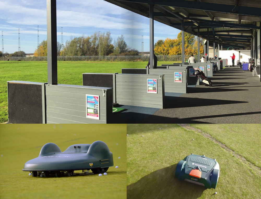 Grimsby Golf Centre install automated mowing and ball management system