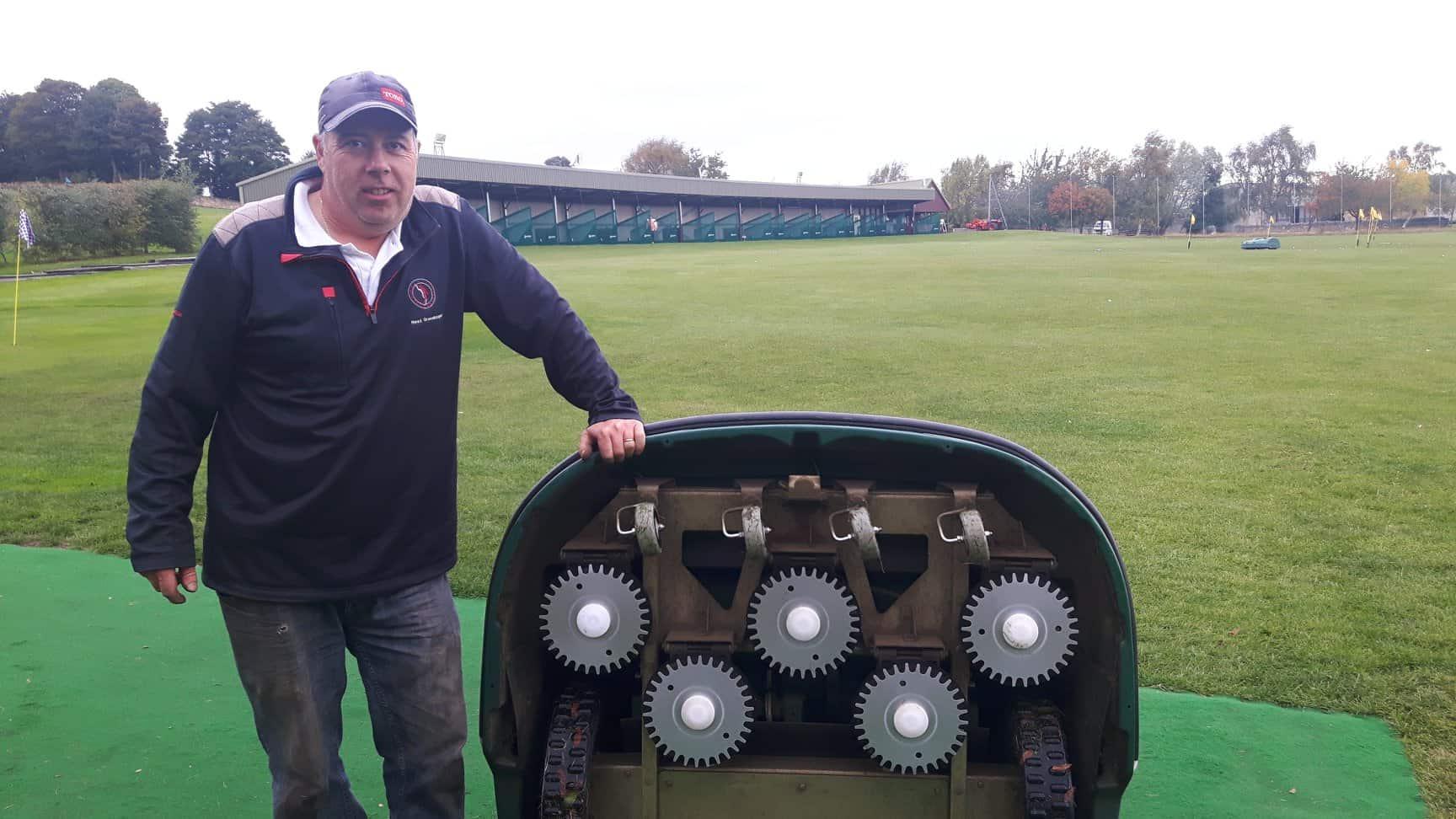 Mellville Golf Centre - Steven Gray, Head Greenkeeper