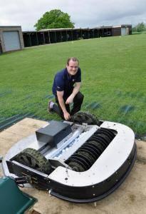Parley Golf Robot Installation